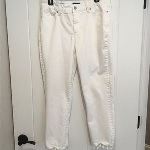 """Not Your Average White Jeans"""